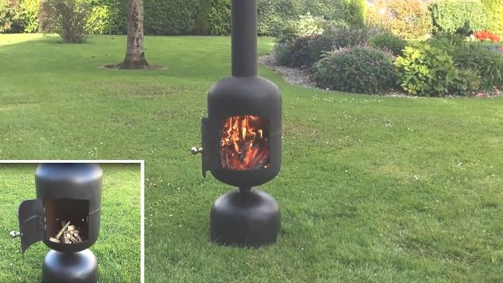 diy patio heater fire pit