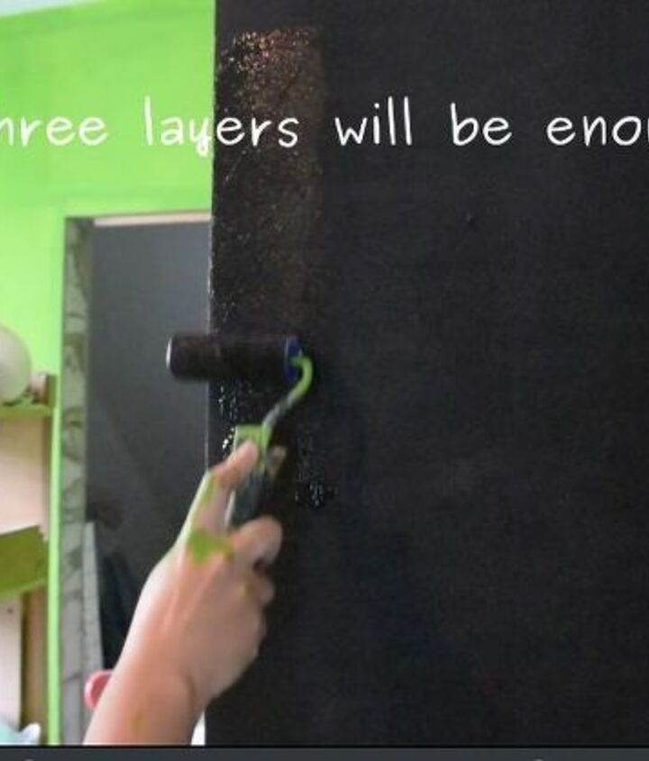 magnetic blackboard in your kids room