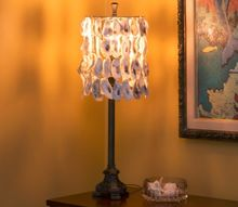 oyster shell lampshade