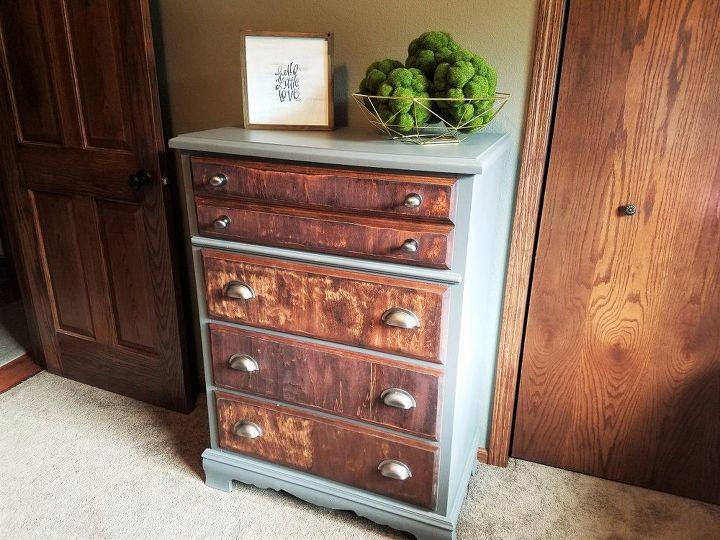 diy rustic dresser