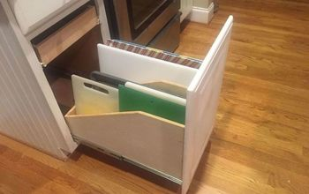 Built a Custom Tray Divider Storage Unit Into My Existing Cabinet!