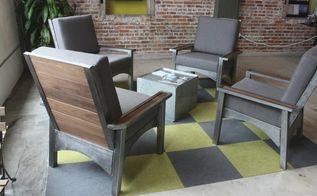 modern adirondack lounge chairs diy