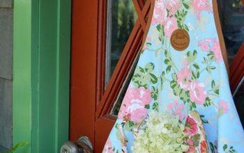 easy 5 minute potting shed door update for summer