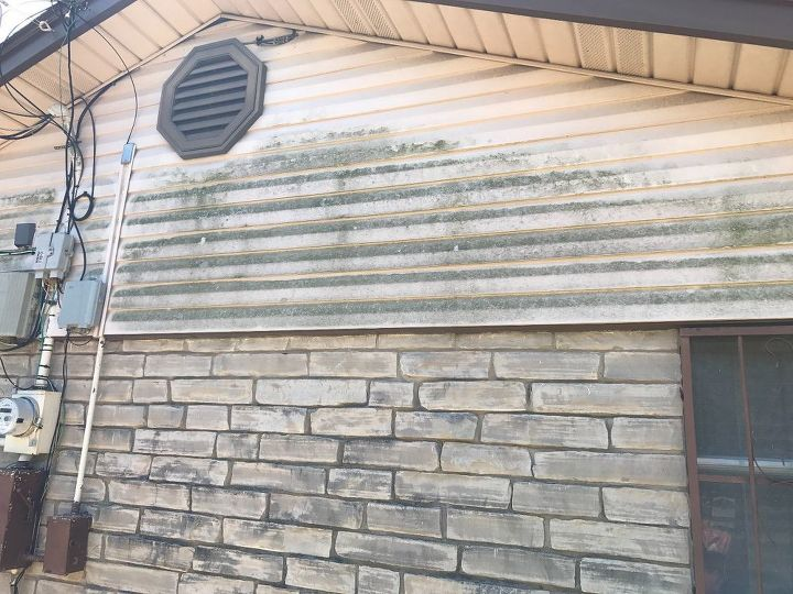 Q What Can I Use To Get Rid Of Mold On Siding Brick