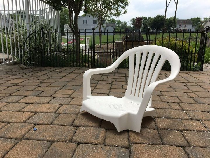 do this to your pool chairs for a 10 minute update