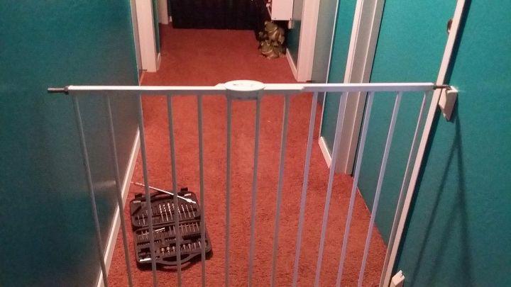 baby gate installation