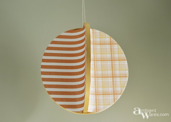 s 26 wonderful ways you can use scrapbooking paper, Hang An Adorable Mobile