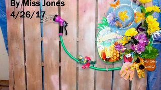 , Daughters all DollarTree items except the hose