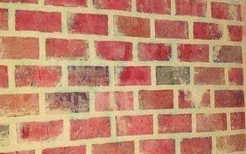 Faux Old Brick Wall