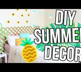 Diy Pinterest Inspired Summer Room Decor Hometalk