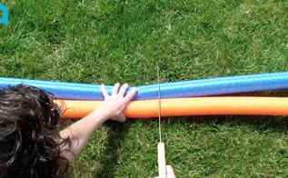 5 awesome home hacks using pool noodles