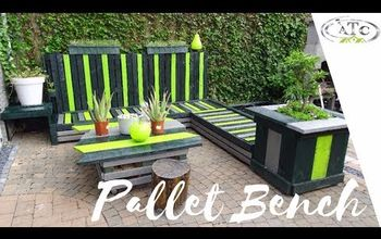 Check Out Our XL and DIY Pallet Sofa to Relax Outside....
