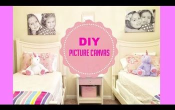 d i y picture canvases, WATCH THE VIDEO TUTORIAL HERE