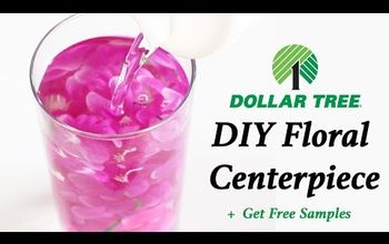 Quickly Create Submerged Floral Centerpieces + Get Free Samples To Try