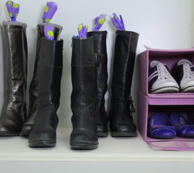 The Prettiest Way To Keep Your Boots Standing Tall Hometalk