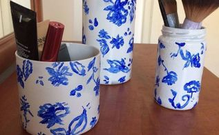 from glass jars to elegant china
