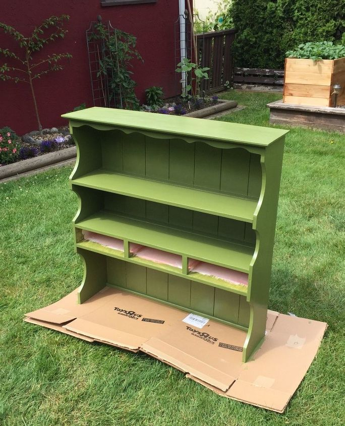 potting table for the garden