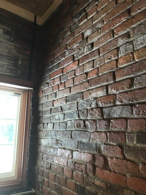 change your brick to farmhouse style