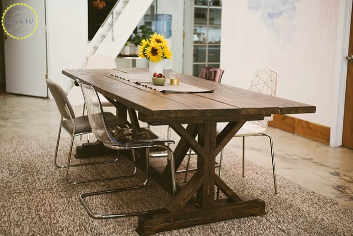 Diy Ana White Farmhouse Table