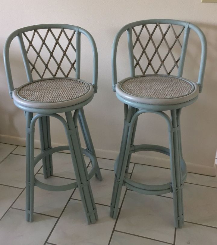 stools saved by the paint