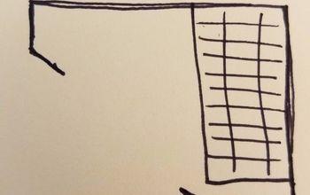Odd shaped small pantry organization ideas.