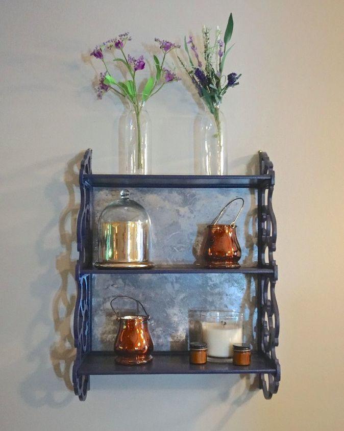 Flea Market Furniture Flip Small Hanging Shelf Hometalk