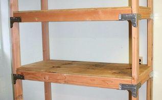diy 2x4 shelving unit