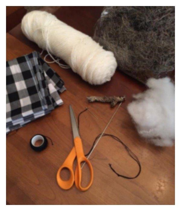diy fabric pumpkin tutorial, Supplies for fabric pumpkins
