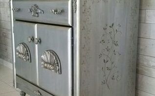 metallic silver bronze luster
