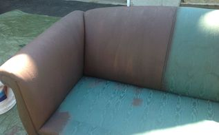 40 couch flip with rustoleum chalk paint