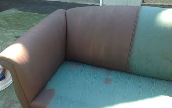 $40 Couch Flip With Rustoleum Chalk Paint