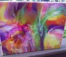 epoxy flow technique using unicorn spit