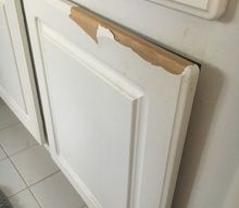 q my cabinets are peeling is there any kind of paint i can use in them