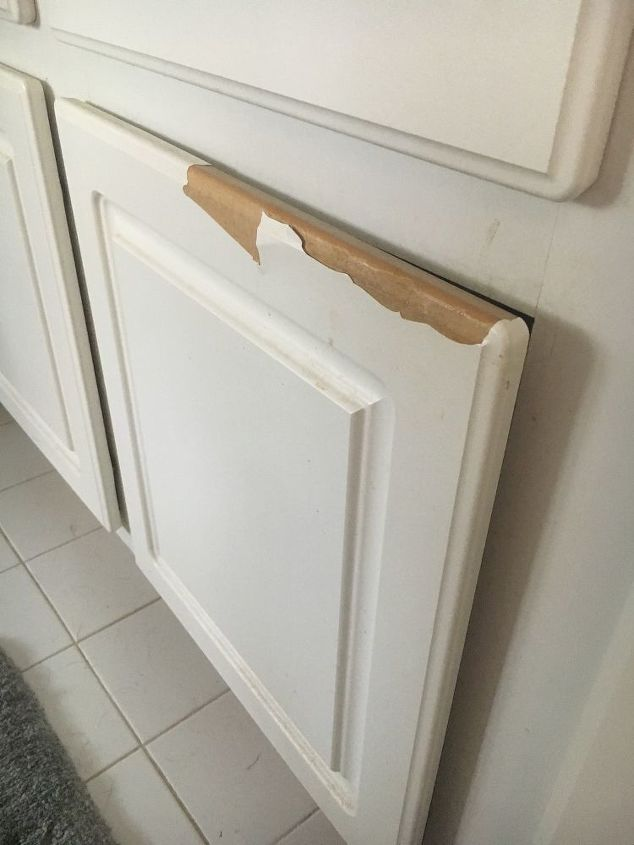 My Cabinets Are Peeling Is There Any Kind Of Paint I Can Use In Them Hometalk