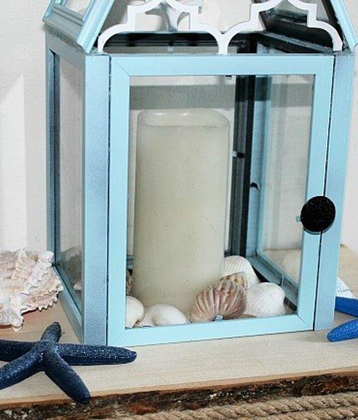 create a beautiful diy lantern from dollar store frames