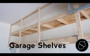 How to Build Garage Shelves | The Best Way!