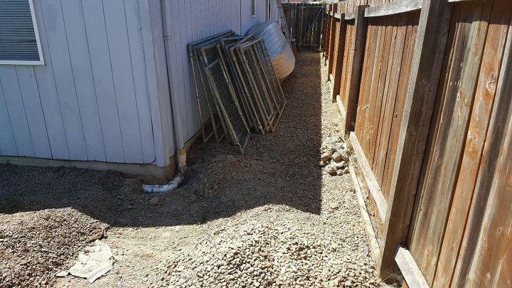 q backyard drainage lines