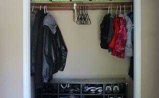 repurpose your boxes into closet organizers