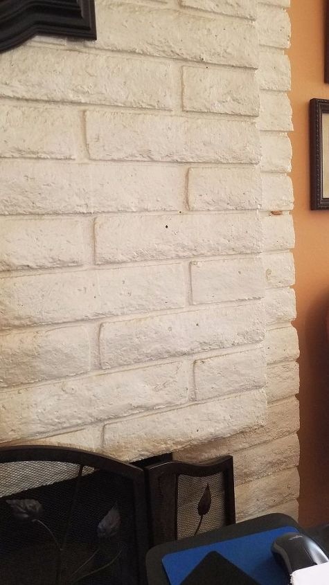 q want to cover my brick fireplace with tile