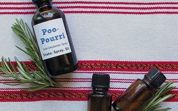 Copycat Poo Pourri Spray: Because Stinky Bathrooms Are For the Dogs!