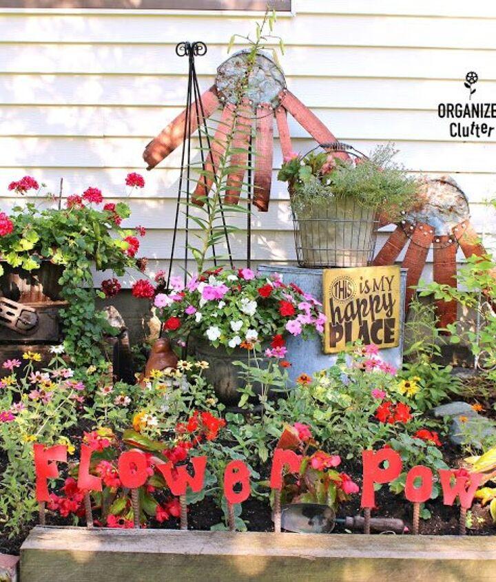 yard of flowers junk garden tour 2017