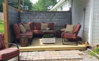 Make Your Deck Unique With A Sunburst Deck Railing Hometalk