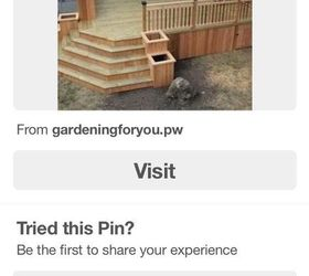 How Do You Make Them So They Can Drain Without Ruining The Wood On The  Patio. We Would Like To Make Some Wood Planters To Go Down One Side Of The  Steps.