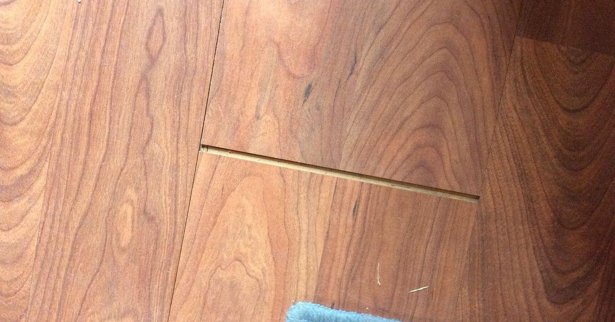 How Do You Fix The Gap In Laminate Flooring Hometalk