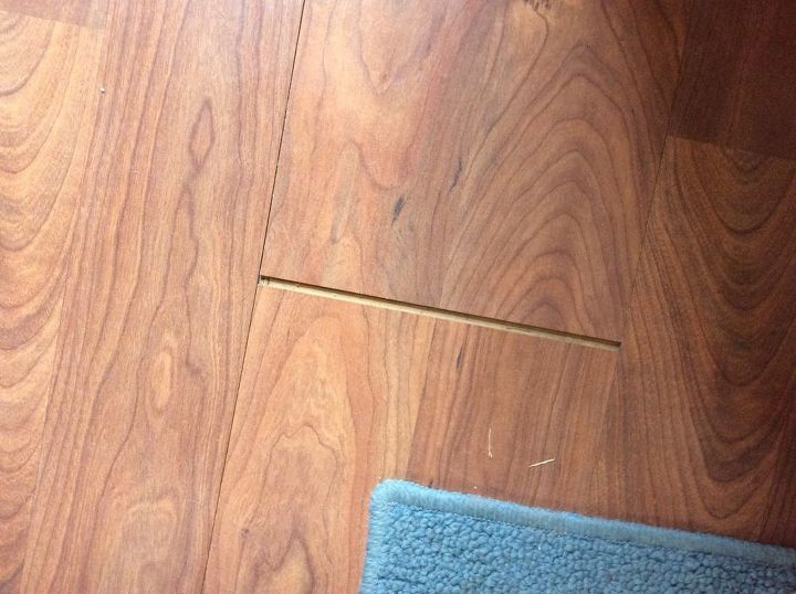 Q How Do You Fix The Gap In Laminate Flooring