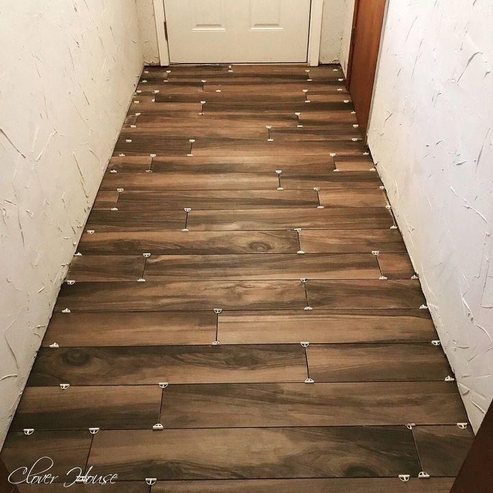 porcelain wood look tile floor hometalk. Black Bedroom Furniture Sets. Home Design Ideas