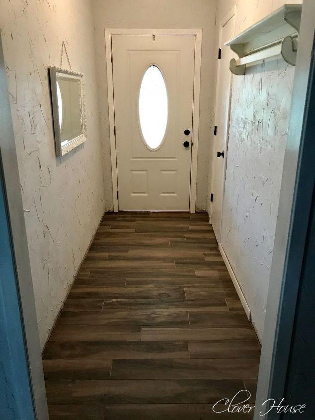Porcelain Wood Look Tile Floor Hometalk