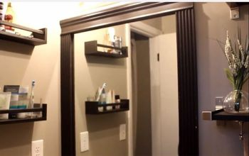 This is How You Upgrade a Small Builder Grade Bathroom!