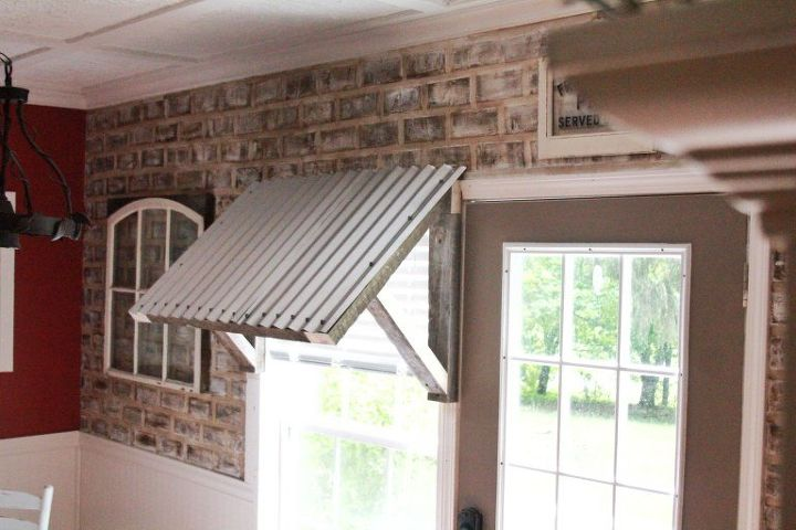 Diy 10 Corrugated Metal Awning Hometalk