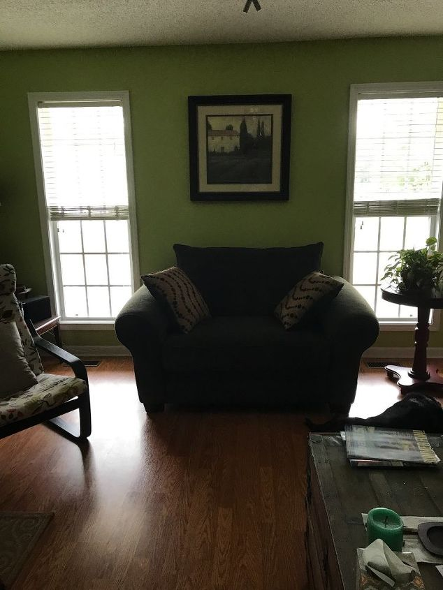 q how to brighten up my living dining room